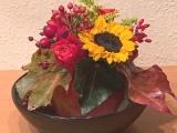 Friday-Flowerday – oder – Wenn ein Apfel zur Blumenvasewird