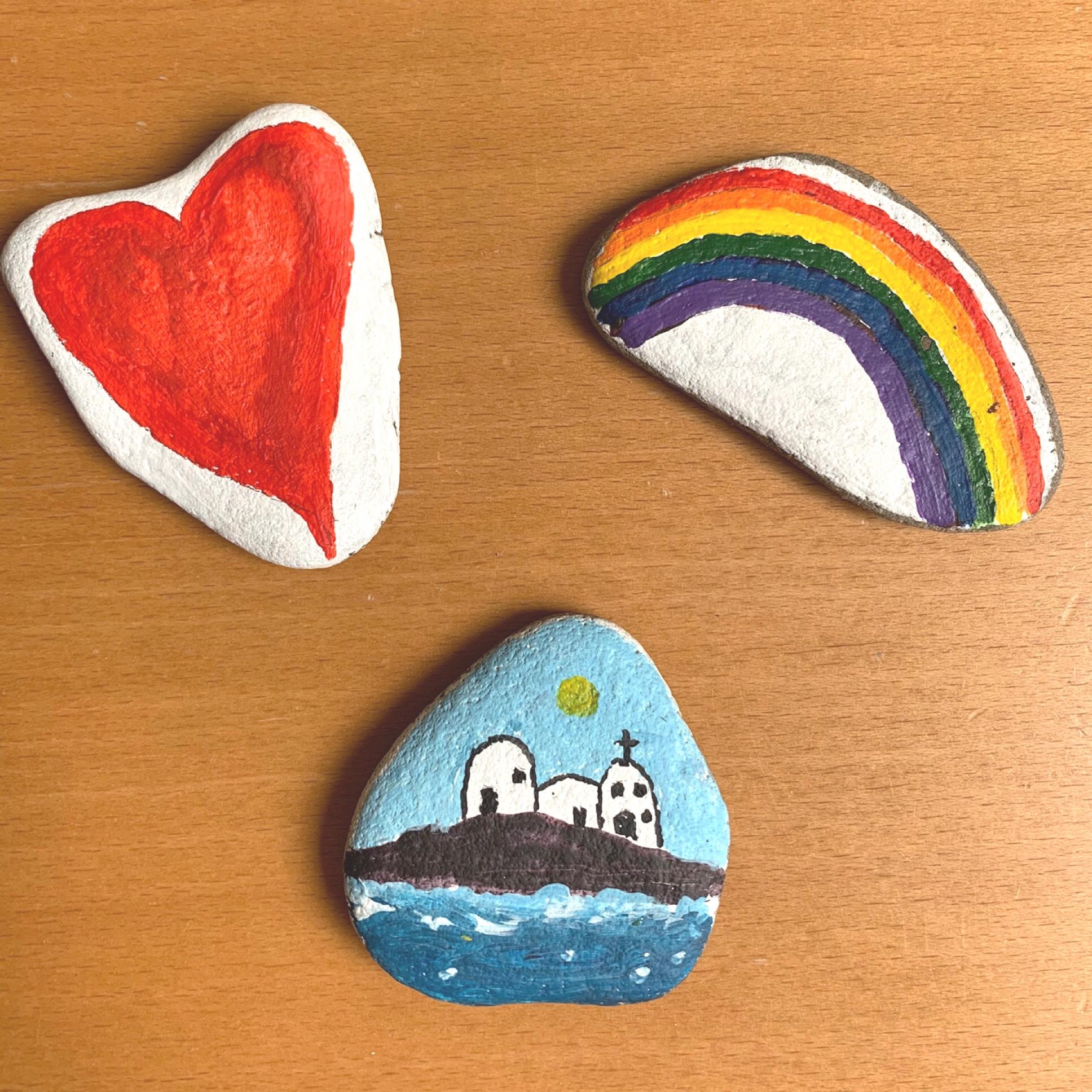 Eine kleine Geschichte vom Stein am Rhein – oder – Wir schicken Steine auf den Weg