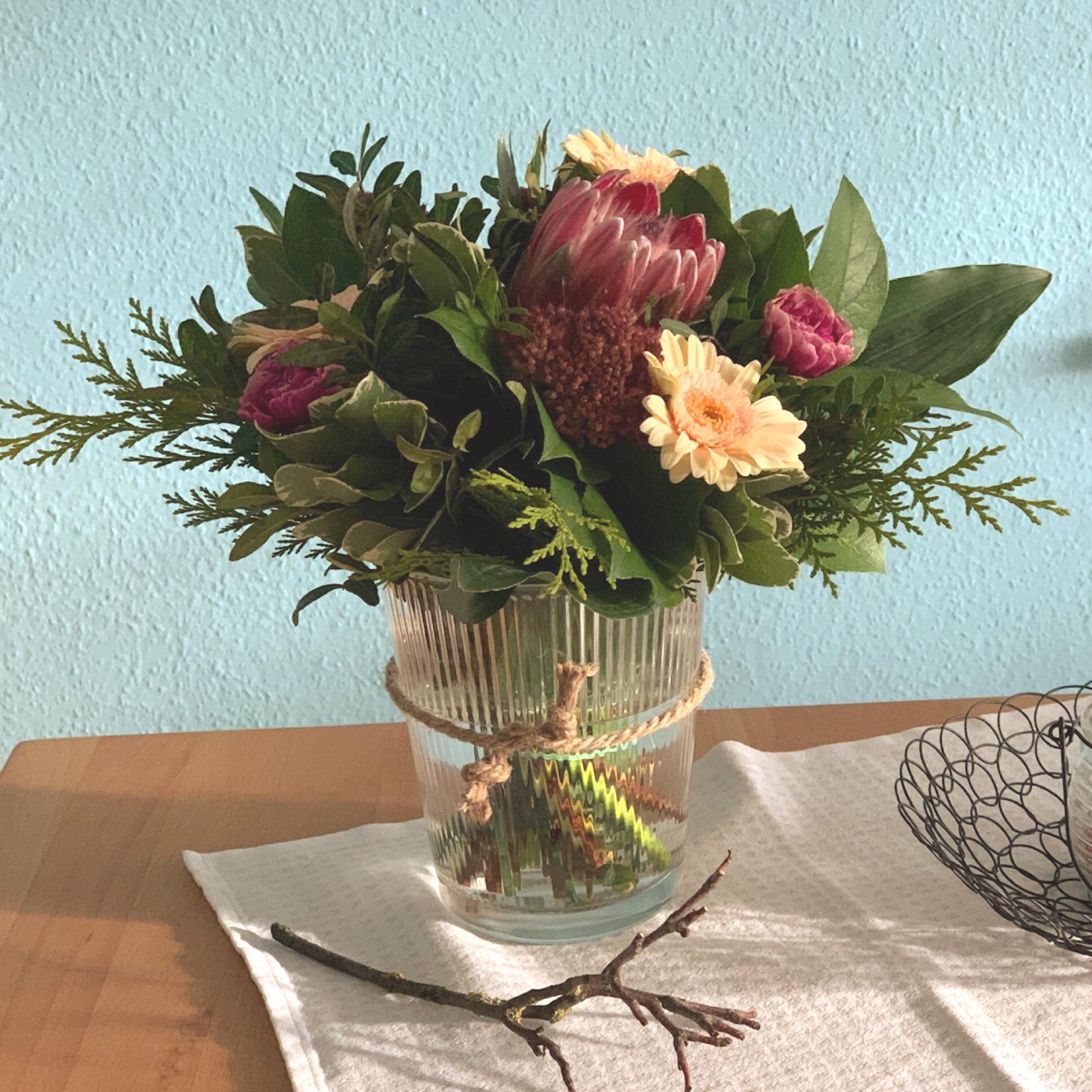 Friday-Flowerday – oder – Ich spendier mir einen Blumenstrauß