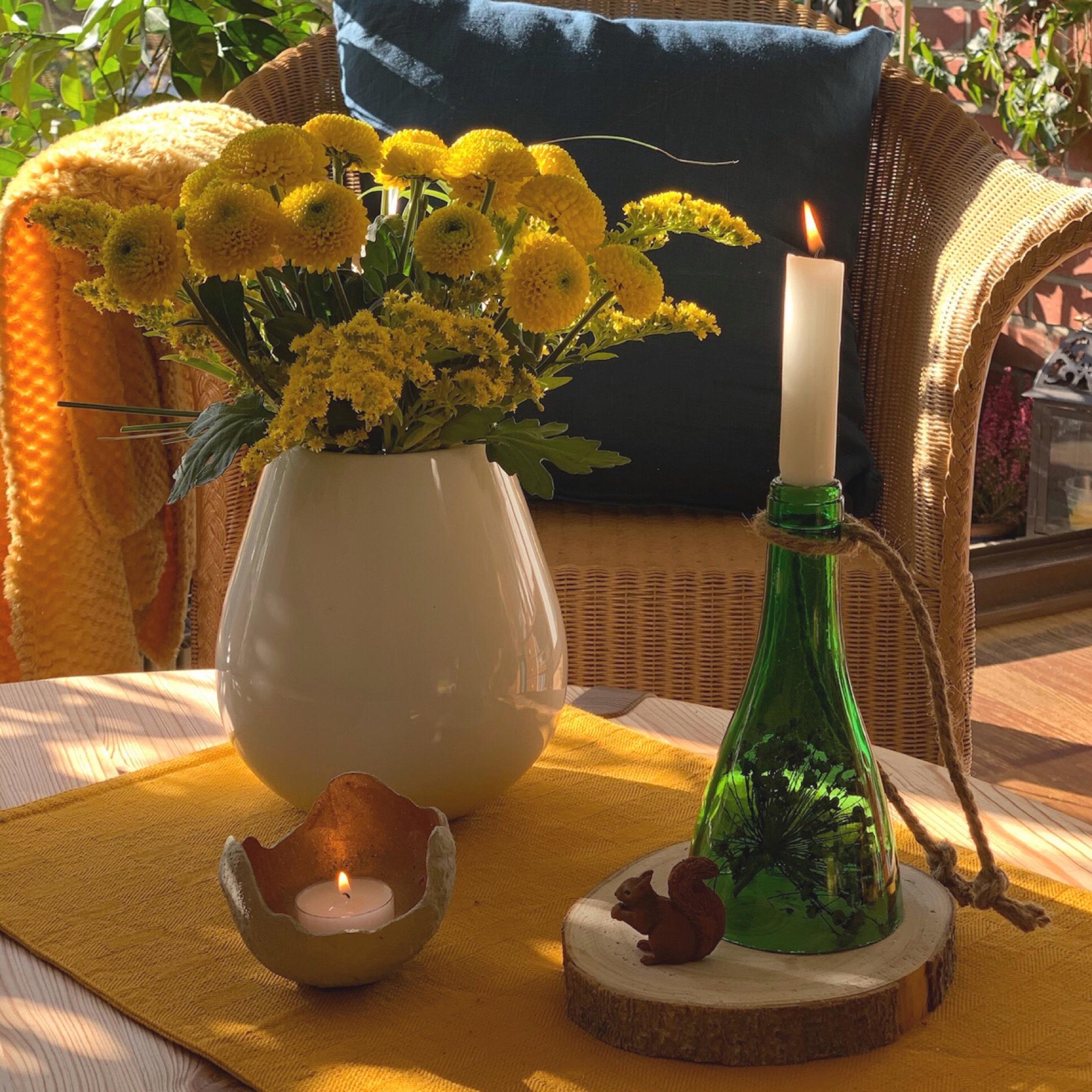 Friday-Flowerday – oder – Goldener November