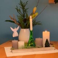 Decemberfeelings #4 : Barbarazweige und Amaryllis - oder - Friday-Flowerday