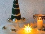Decemberfeelings #3 : Eine wollig-weiche Tanne – oder – NadelgefilztesTannenbäumchen