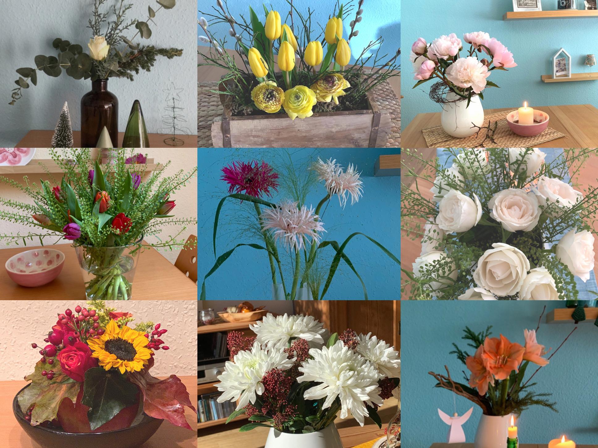 Friday-Flowerday – oder – Kleiner floraler Jahresrückblick