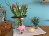 Friday-Flowerday – oder – Rosa undstandhaft