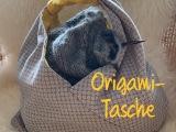 Origami aus Stoff – oder – Das Gestrickte kommt insGenähte