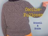 Schnell und schön – oder – Cecilie-Pullover auch in grau einLieblingsteil