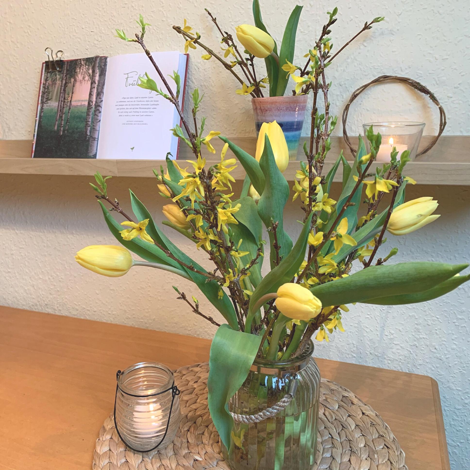 Friday-Flowerday – oder – Dann eben wieder Tulpen