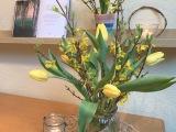 Friday-Flowerday – oder – Dann eben wiederTulpen