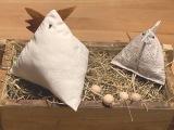 Ostercountdown … 5… – oder – Reloaded 2021: DreieckigeHühner