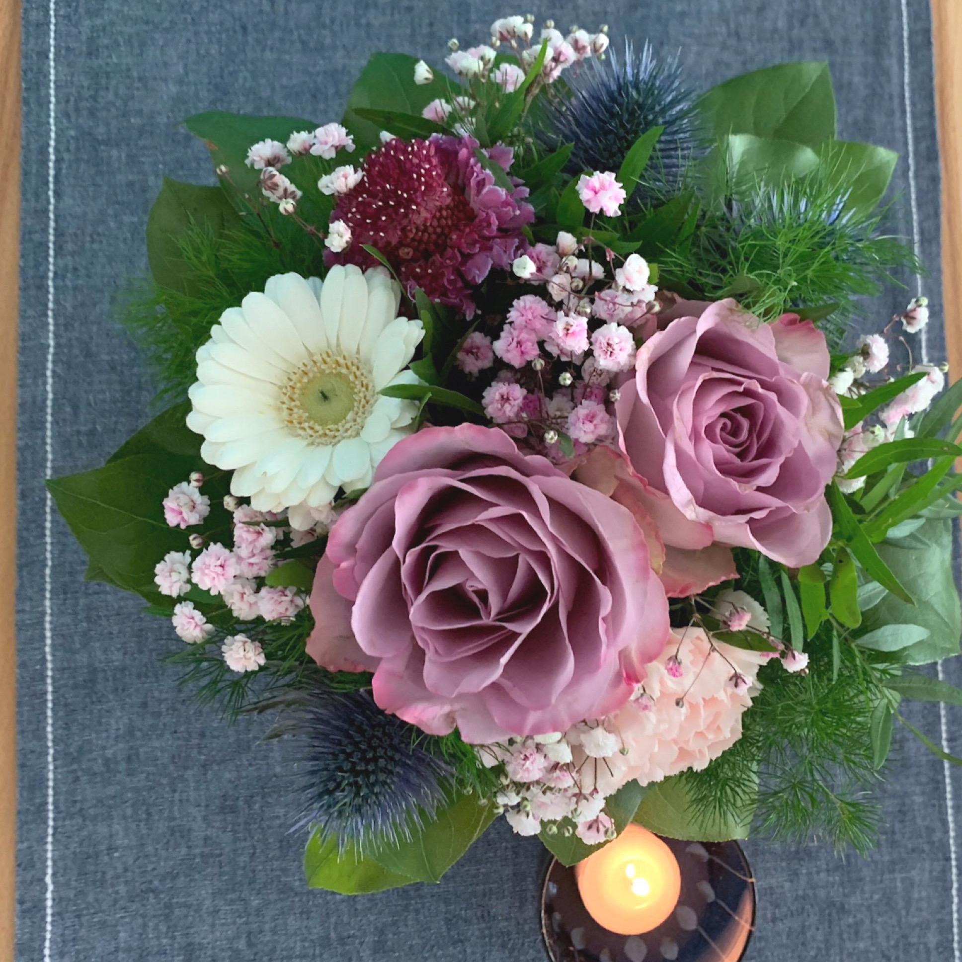 Friday-Flowerday – oder – Selbstgeschenkt