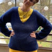 Kumulusbluse, ein Hauch von Pullover - oder - Das wird ein Lieblinsteil