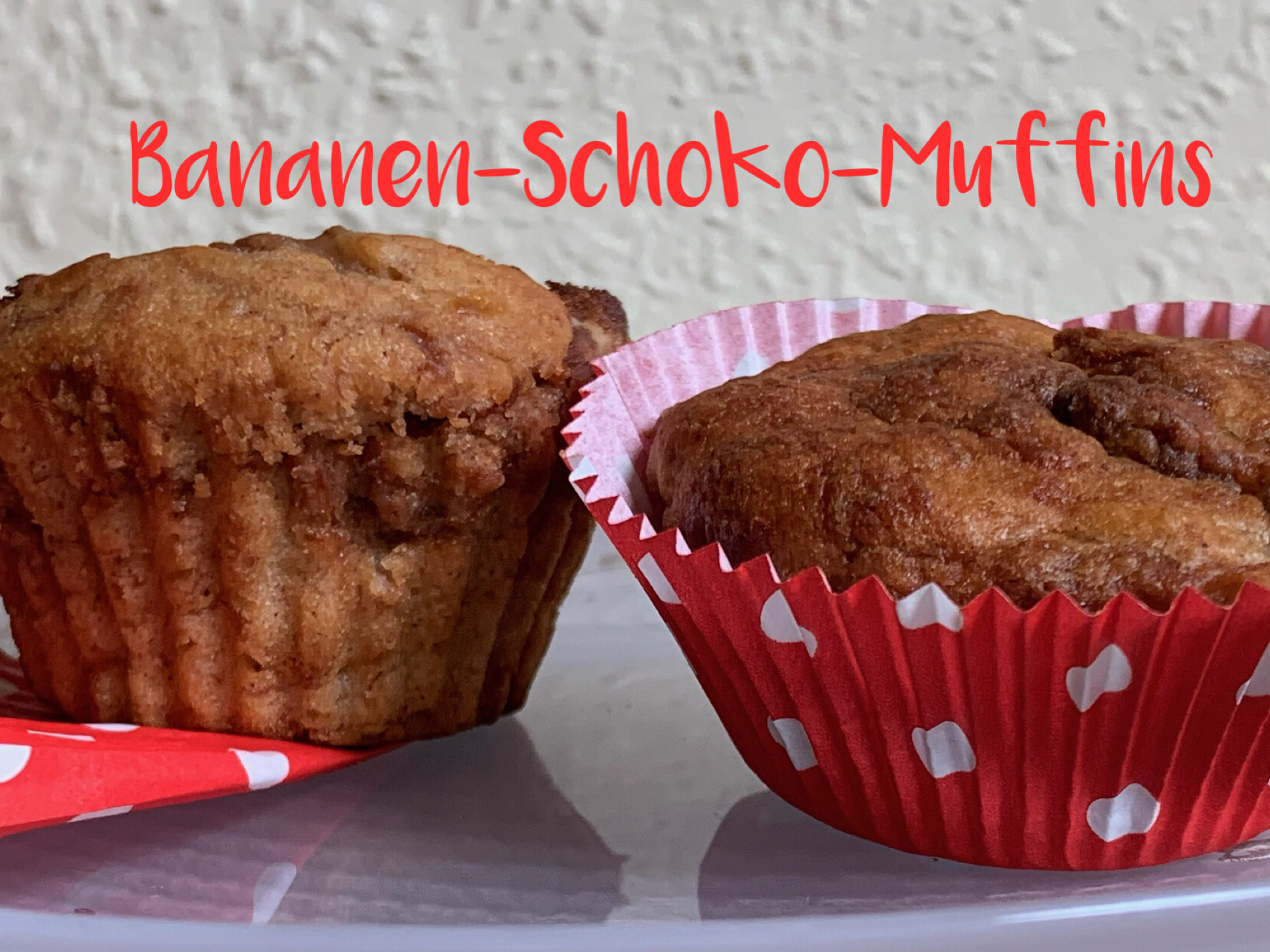 Bananen-Schoko-Muffins – oder – Ein Schokohase auf neuen Wegen