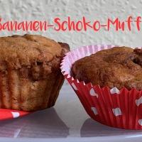 Bananen-Schoko-Muffins - oder - Ein Schokohase auf neuen Wegen