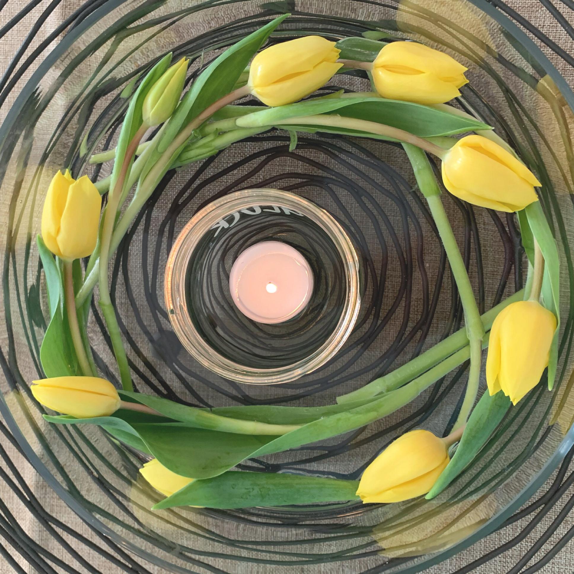 Friday-Flowerday – oder – Tulpen-Karusell