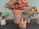 Friday-Flowerday – oder – Der Klassiker: Rosen undSchleierkraut