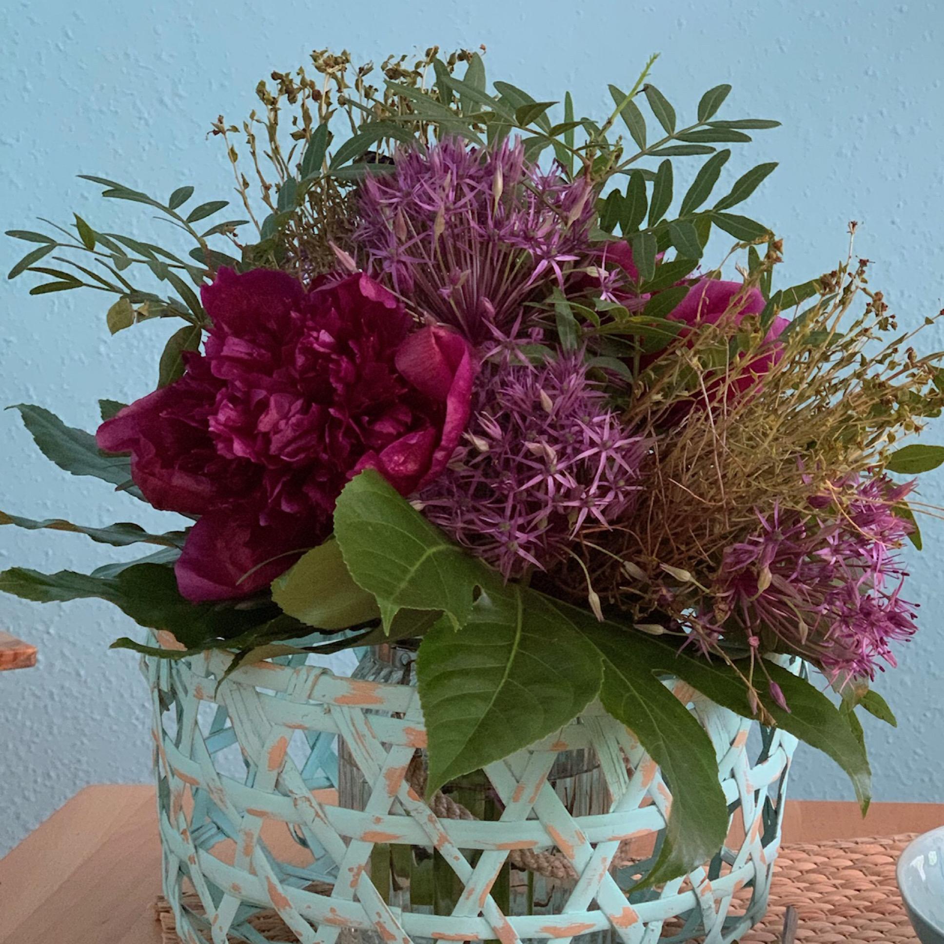 Friday-Flowerday – oder – Aus drei mach eins