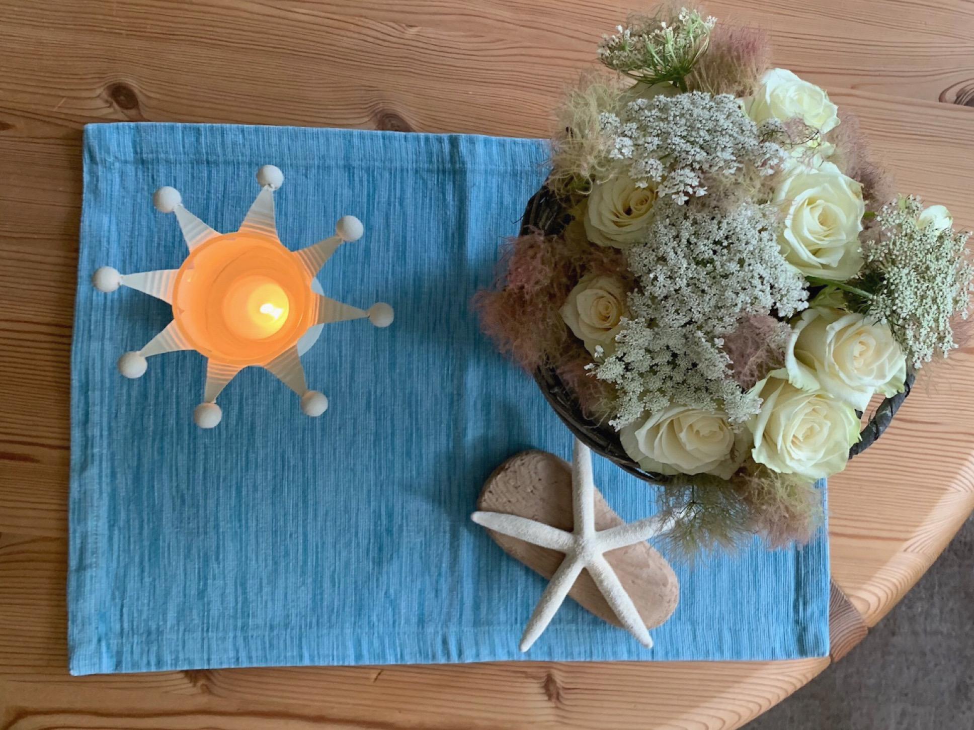 Friday-Flowerday – oder – Maritimes Feeling für die Rosen