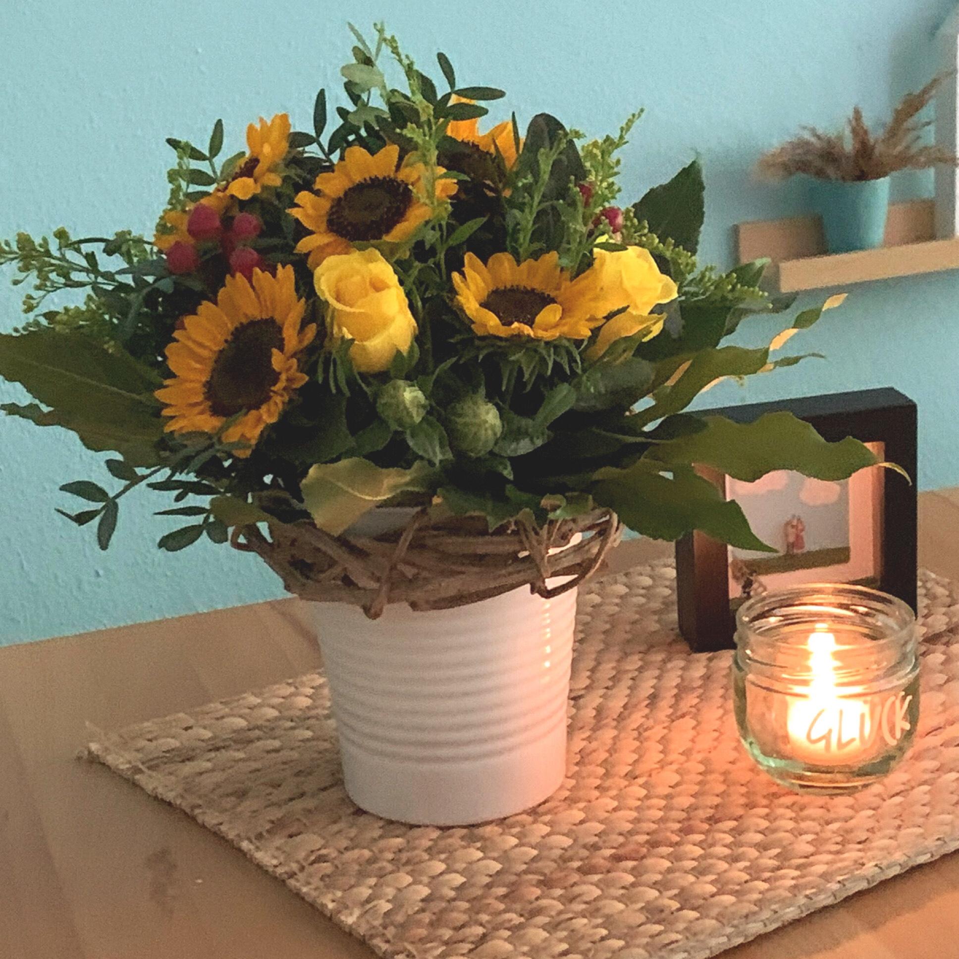 Friday-Flowerday – oder –  Ein Blumenstrauß für Herr L.