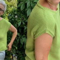 Sommerstrick: Leicht zu stricken, luftig zu tragen - oder - Basic-Shirt