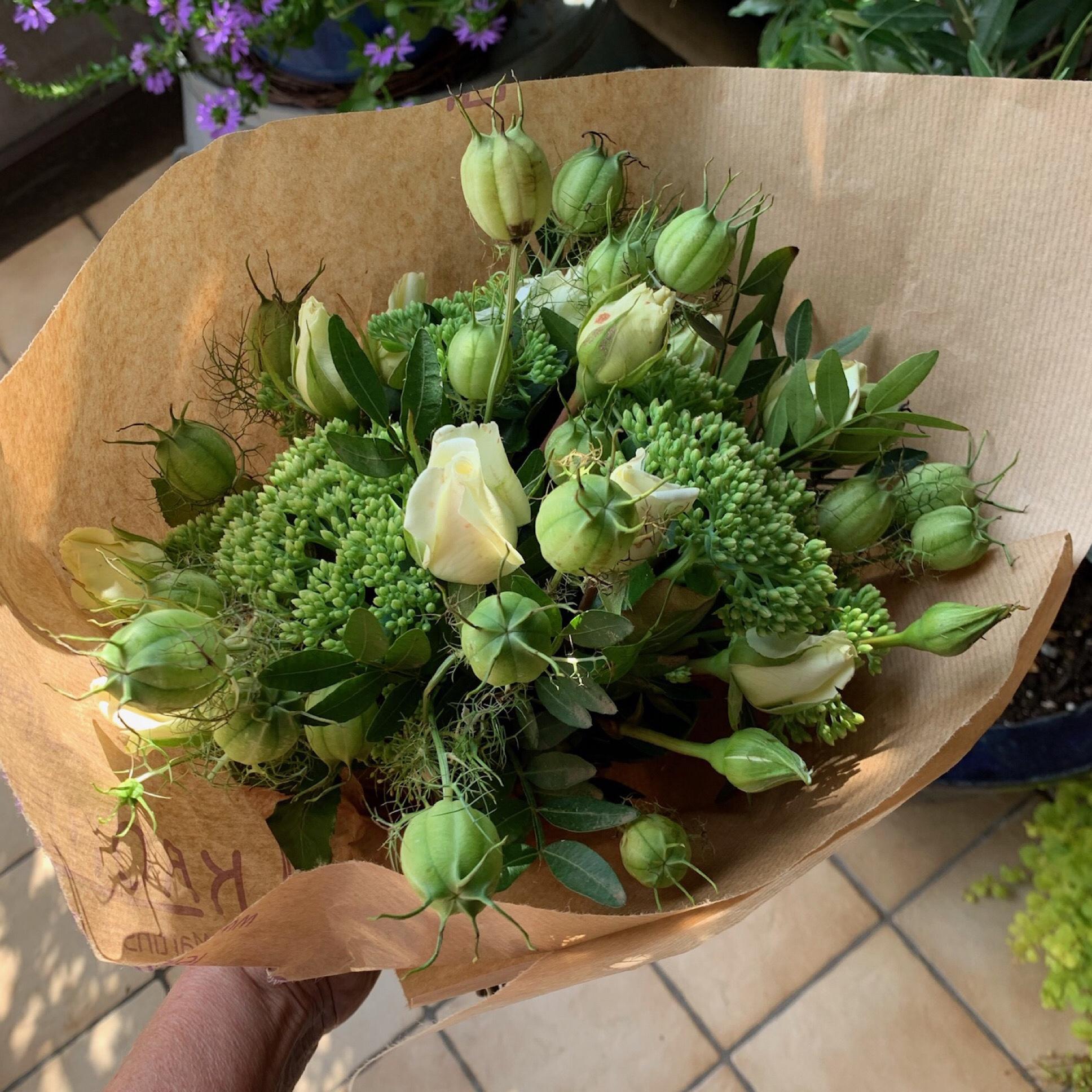 Friday-Flowerday – oder – Es ist nie zu spät für Freitagsblümchen