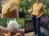I did it again: Basic Shirt #2 – oder – I did it: Wie ich zum Silberschopfwurde