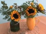 Friday-Flowerday – oder – Sonne in denVasen