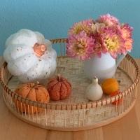 Friday-Flowerday - oder - Ein kleiner Strauß Gartenglück: Dahlien