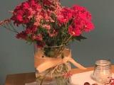 Friday-Flowerday – oder – Rot vorBlau