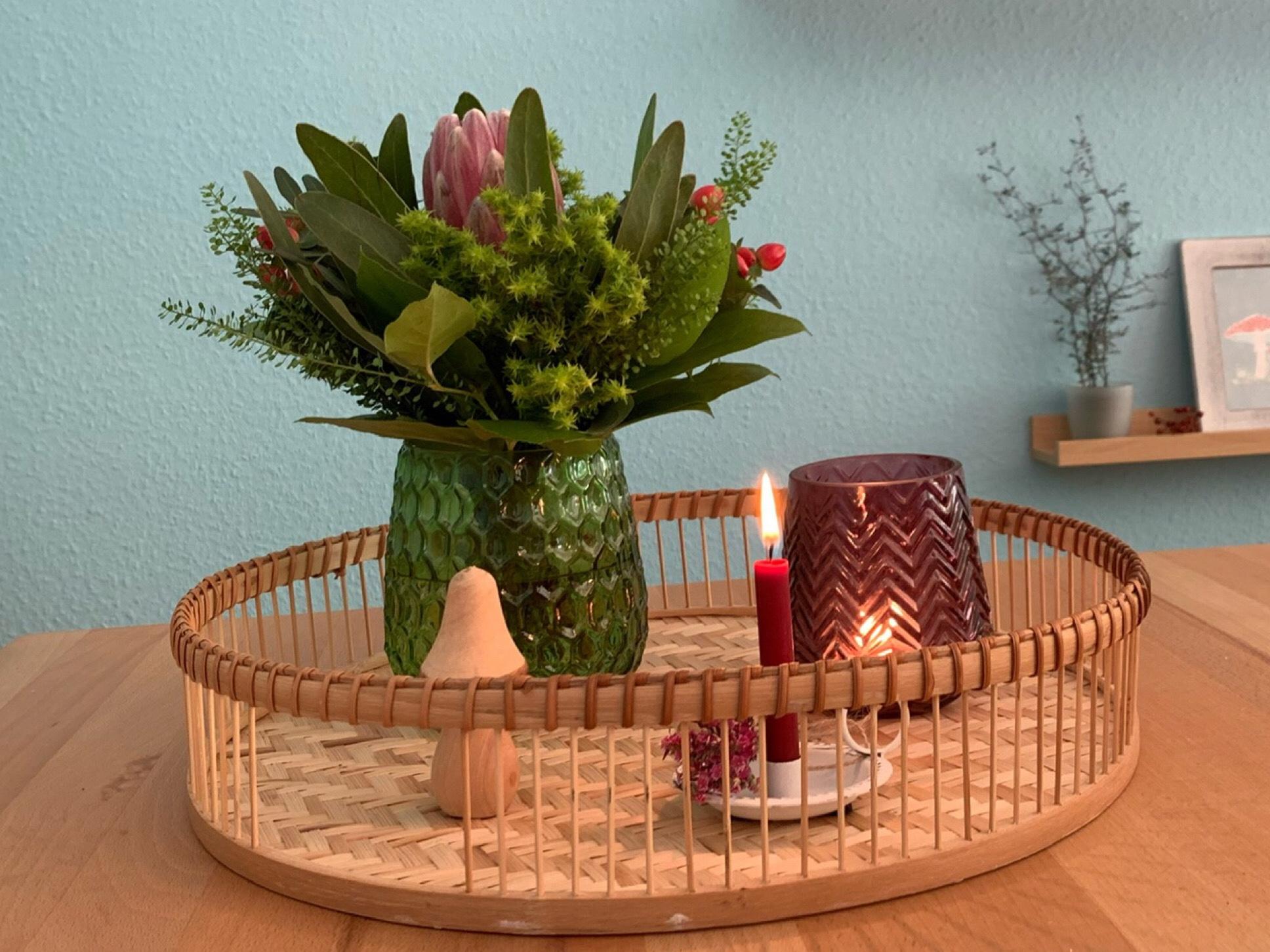 Friday-Flowerday – oder – Protea und mehr